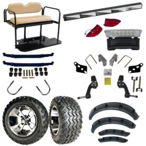 Club Car Precedent One Box One Car All-In-One Lifted Kit (Years 2004-Up)