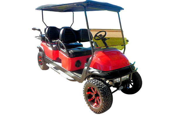 "2010 CLUB CAR PRECEDENT ""LIMO"" GAS POWERED"