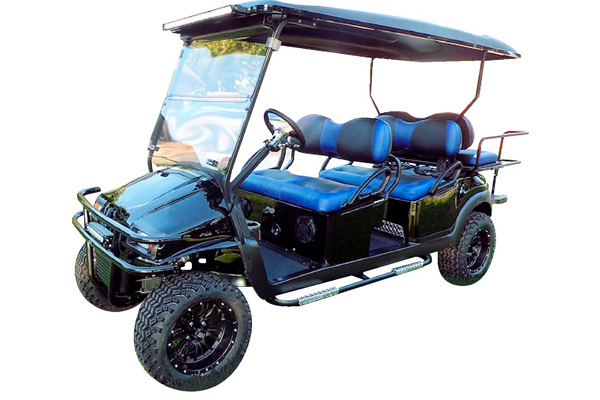 CUSTOM 2013 CLUB CAR PRECEDENT GAS POWERED SIX-PASSENGER