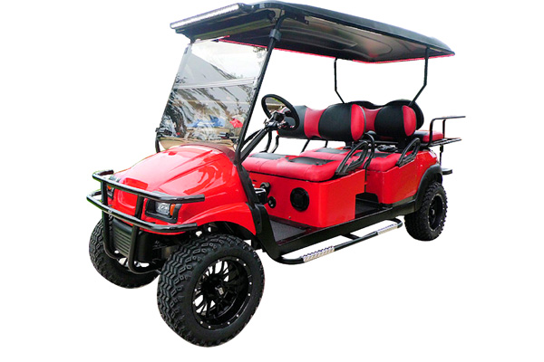 CUSTOM 2013 CLUB CAR PRECEDENT PHANTOM GAS POWERED SIX-PASSENGER