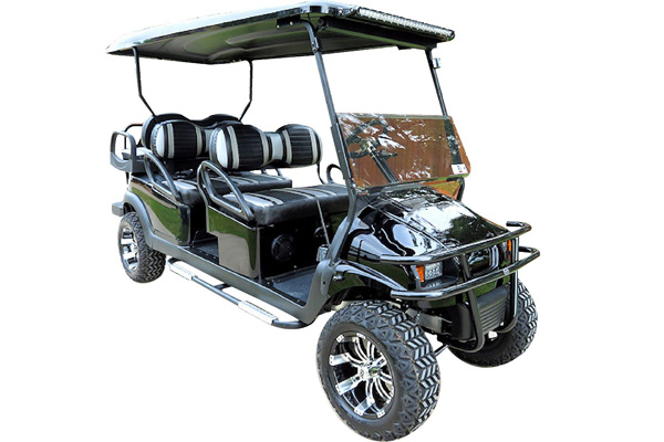 CUSTOM 2016 CLUB CAR PRECEDENT PHANTOM GAS POWERED SIX-PASSENGER