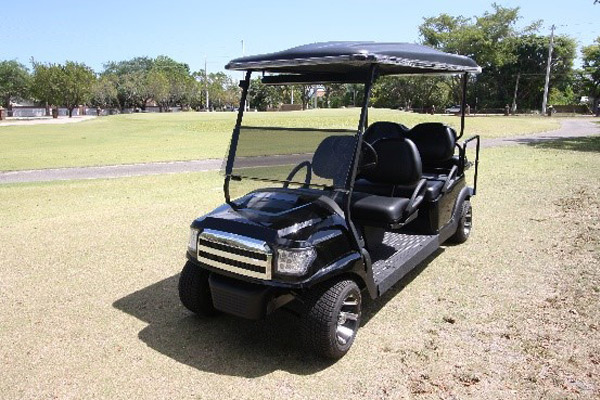Club Car 48v with Black Alpha body #B621