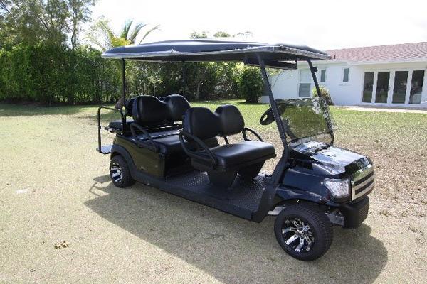 Club Car 48v with Black Alpha body #B621