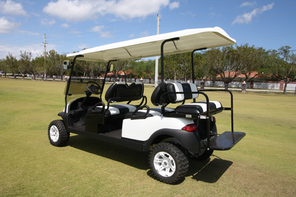 2016-2019 Club Car Precedent  6 Passenger Lifted all terrain Tires & Wheels   # W621