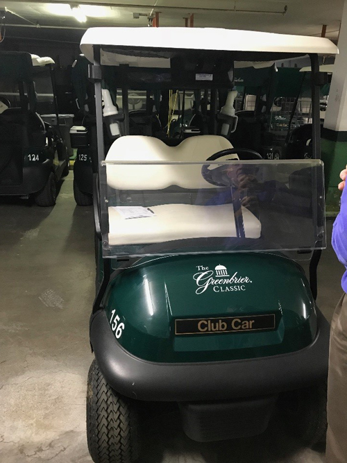 2015 Club Car Precedent Green