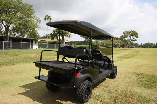 Club Car Precedent 6 Passenger Alpha - SKU #669 back view
