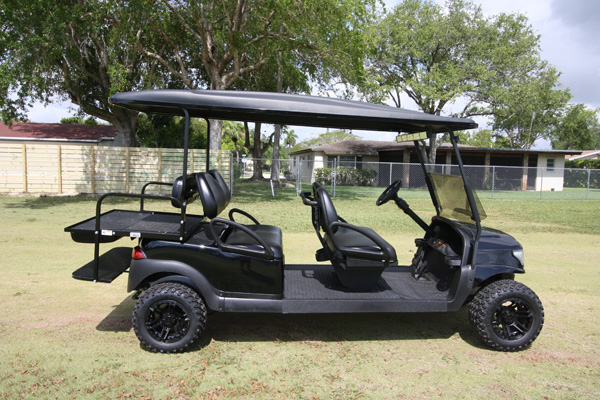 Club Car Precedent 6 Passenger Alpha - SKU #669 side view