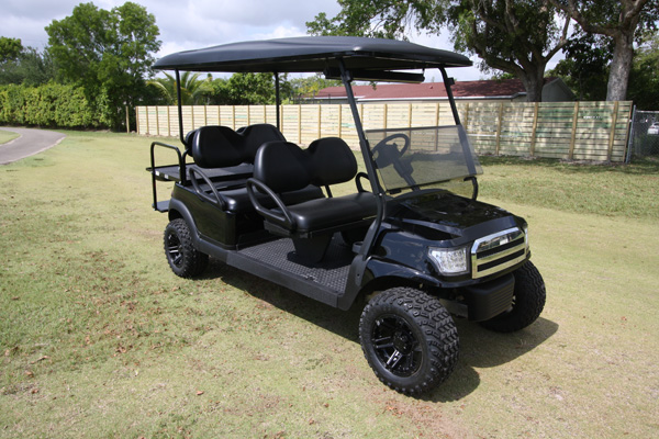 Club Car Precedent 6 Passenger Alpha - SKU #669