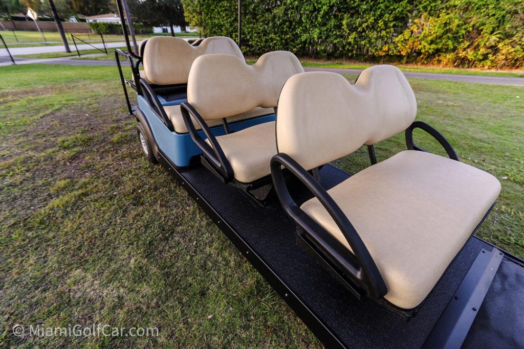 Club Car 8 passengers Stretch Limo - SKU #88 seats
