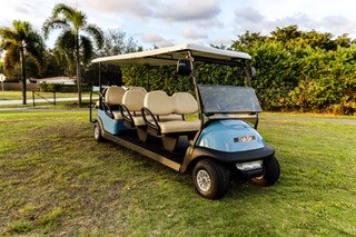 CLUB CAR STRETCH LIMO GOLF CART SKU #88