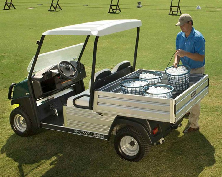 Club Car Carryall 500 GAS W/Electric Dump Bed  #U251