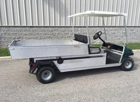 Club Car Carryall 500 GAS W/Electric Dump Bed #U253