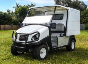 Club Car Carryall 500 GAS Enclosed Cargo Box SKU U254E
