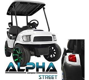 Custom Street Legal Golf Carts