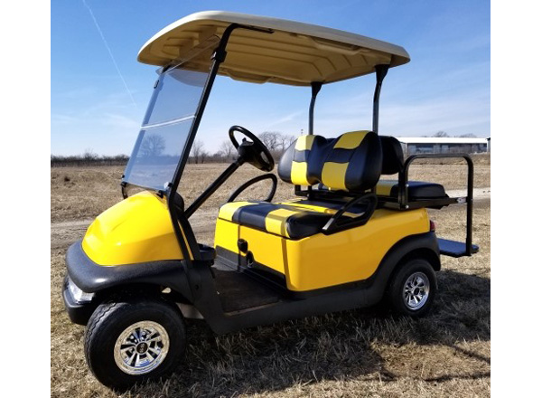 Club Car Precedent with light kit $4,300 SKU #C400