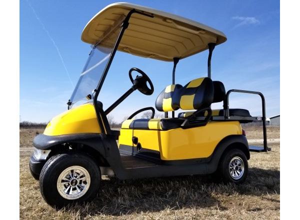 Club Car Precedent with light kit $4,300 SKU #C400