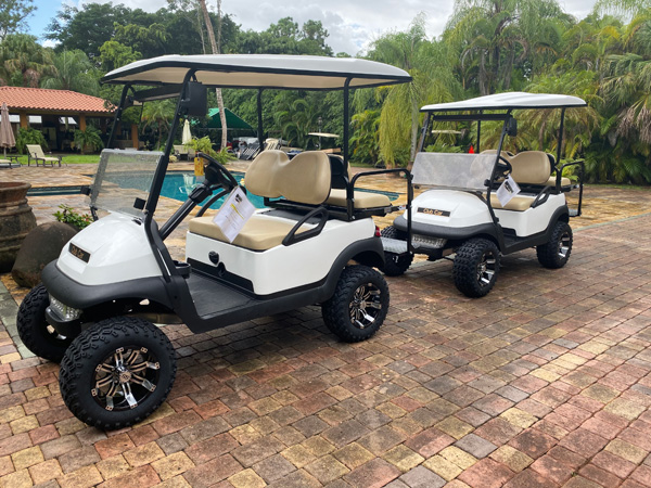 st martin testimonial for golf carts