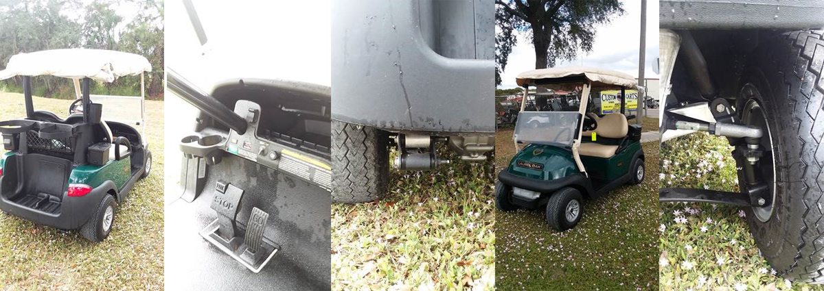 2017 Club Car Precedent Electric PRIVATE OWNER USE CARTS golf
