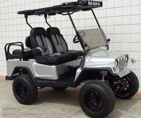 Club Car Precedent Jeep body $8990 SKU Jw120
