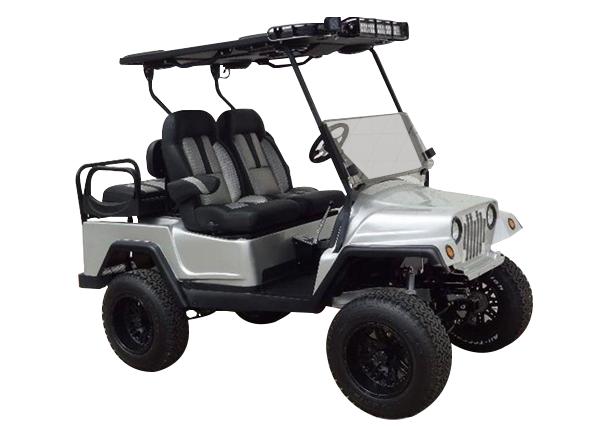 Club Car Precedent Jeep body SKU Jw120