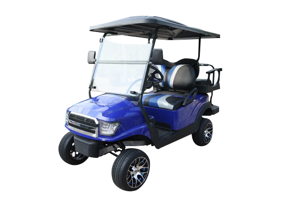 Lifted Club Car Alpha Body 4 Passenger Blue A421