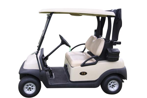 CLUB CAR PRECEDENT White golf cart
