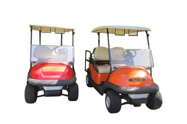 CLUB CAR PRECEDENT 4 SEAT orange or red C124R