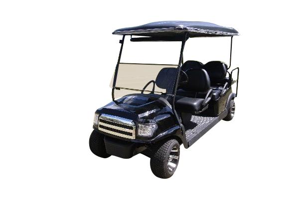 Club Car 48v with Black Alpha body SKU #658