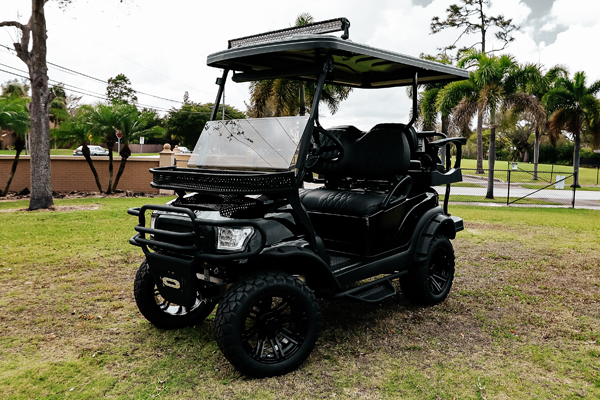 CLUB CAR with New tinted fold down windshield #22