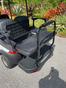 Club Car 8 passenger golf cart SKU87 Miami FL back view