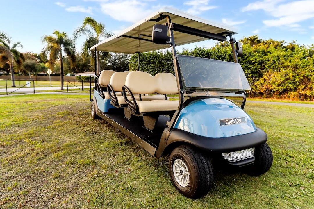 Curacao Ports Authority VIP customer of golf carts Miami