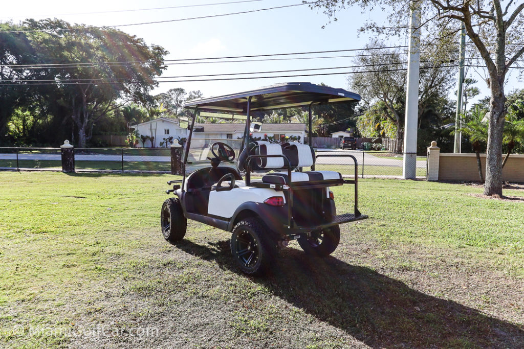Club Car Precedent 4 Passenger - SKU #476 back