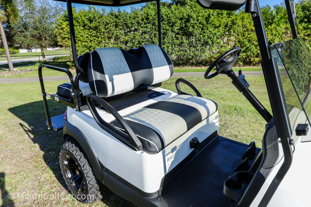 Club Car Precedent 4 Passenger - SKU #476 seats