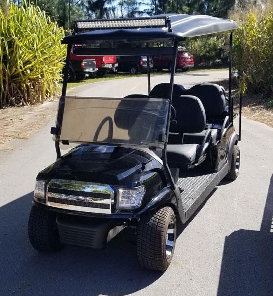 Zoo Miami Foundation VIP golf cart customer