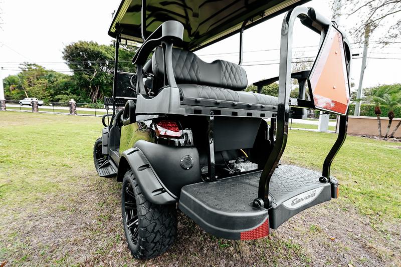 Alpha Black Golf Cart SKU 22