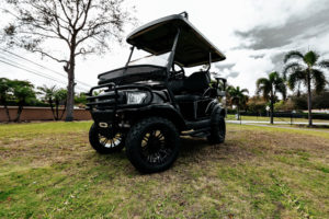 Alpha Black Golf Cart SKU 22