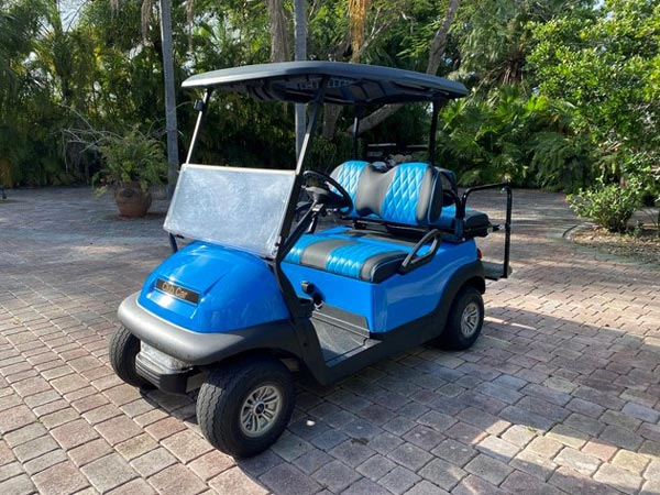 Bahama Blue Club Car Precedent  SKU #C186 front