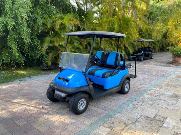 Club Car Precedent 4 Passenger Bahama Blue - SKU #451