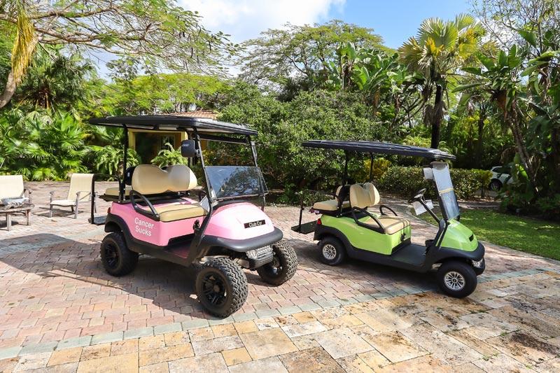 Kava Mackey Harbor Island, Bahamas Golf Cart VIP customer for Miami Golf Car