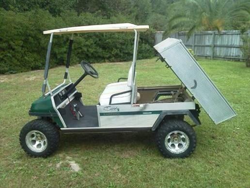 Club Car Turf 2 Golf GAS Utility Cart