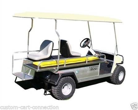 Club Car Villager 6 with ambulance kit