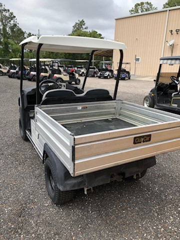 Pre own  2016 Club Car Carryall 500 Gas White SKU U266 back view