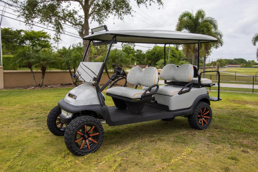 Club Car Precedent Sku651 6 passengers custom built by Miami Golf Car llc