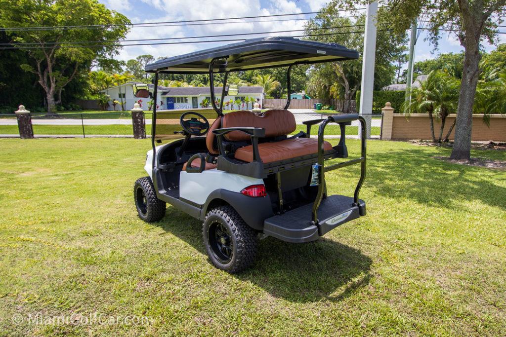 Club Car Precedent 4 Passenger Alpha Body – SKU #447 back view