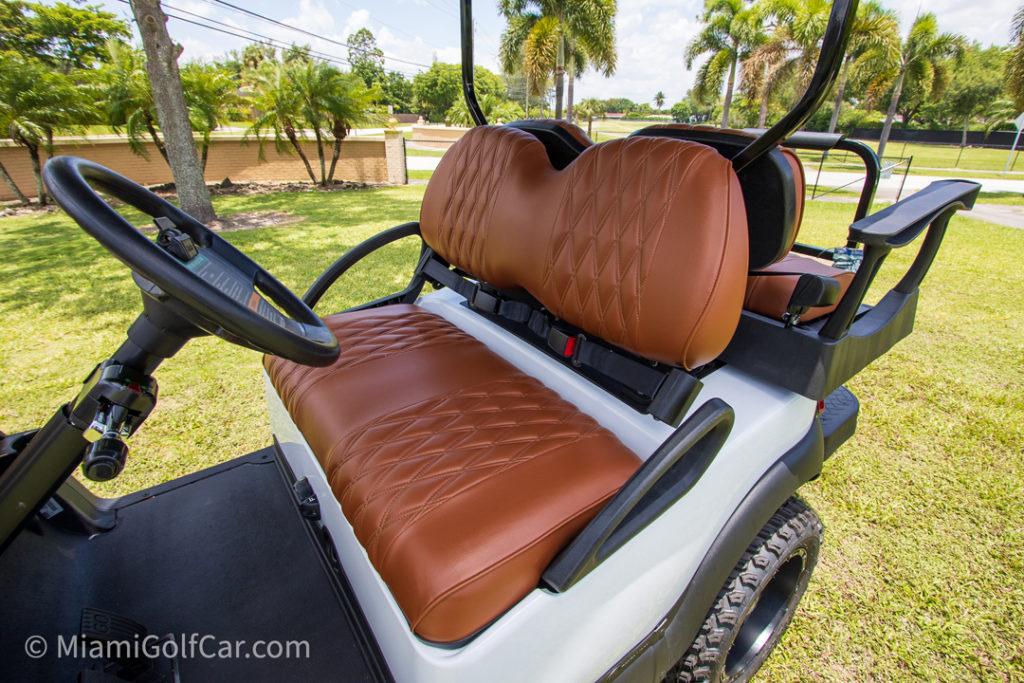 Club Car Precedent 4 Passenger Alpha Body – SKU #447 seats