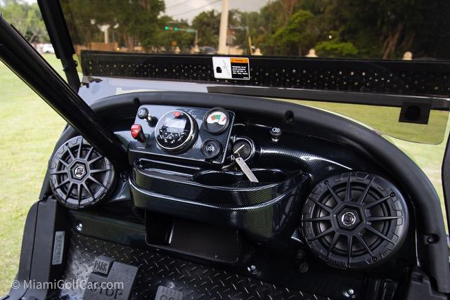 Club Car Precedent 6 Passenger Alpha - SKU #650 dash