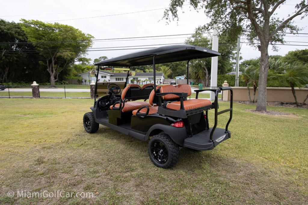Club Car Precedent 6 passenger - SKU #652 side back