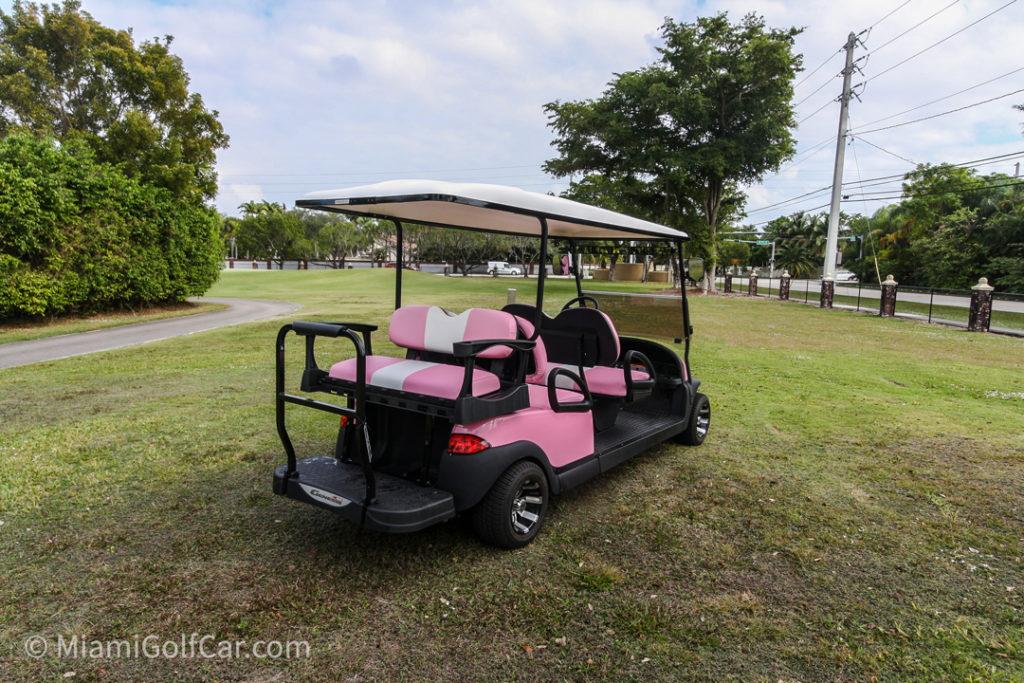 Club Car Precedent 6 Passenger - SKU #653 back