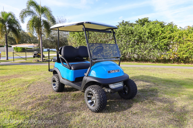 Club Car Precedent 4 Passenger SKU #465 front