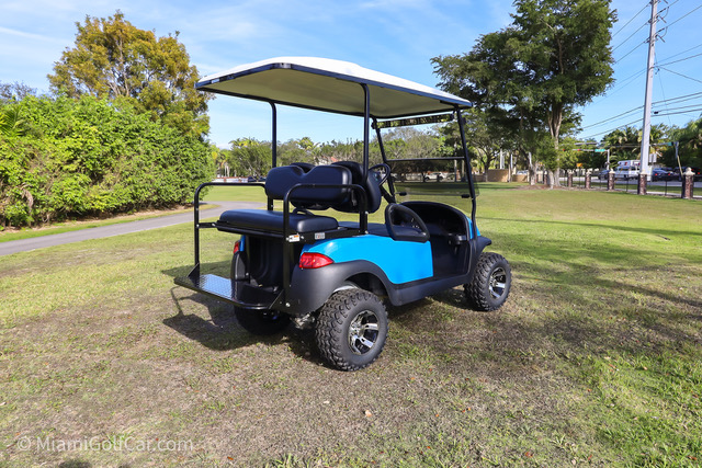 Club Car Precedent 4 Passenger SKU #465 back